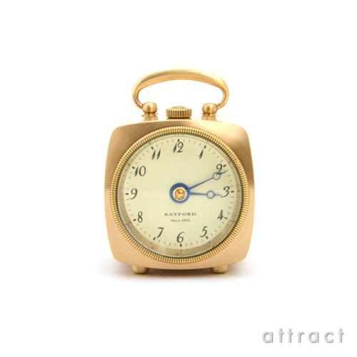 プリンス prince キーフォード KEYFORD グラブ テーブルウォッチ Grab Table Watch 村松時計製作所 置き時計 真鍮 カラー:ブラス 【smtb-KD】  【HLS_DU】