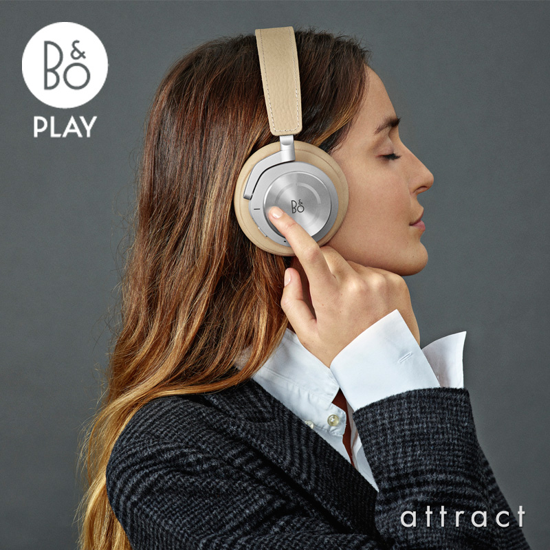 バング&オルフセン Bang & Olufsen ベオプレイ B&O PLAY BeoPlay H9i ワイヤレス ヘッドフォン オーバーイヤー型 アクティブノイズキャンセリング ANC Bluetooth デザイン:ヤコブ・ワグナー カラー:4色 正規メーカー保証 【smtb-KD】