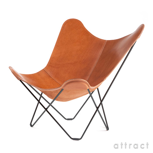 BKFチェア BKF Chair クエロ cuero Butterfly Chair バタフライチェア PAMPA MARIPOSA POLO パンパ マリポサ マリポーサ ポロ ブラウン スチールフレーム・ベジタブルタンニンなめし革 【smtb-KD】