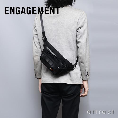 エンゲージメント ENGAGEMENT エンゲージド・ナイロン Engaged Nylon Shoulder Bag ショルダーバッグ Sサイズ カラー:2色 EGSB-001 耐久性 軽量 撥水 止水 ジェットセッター 【smtb-KD】