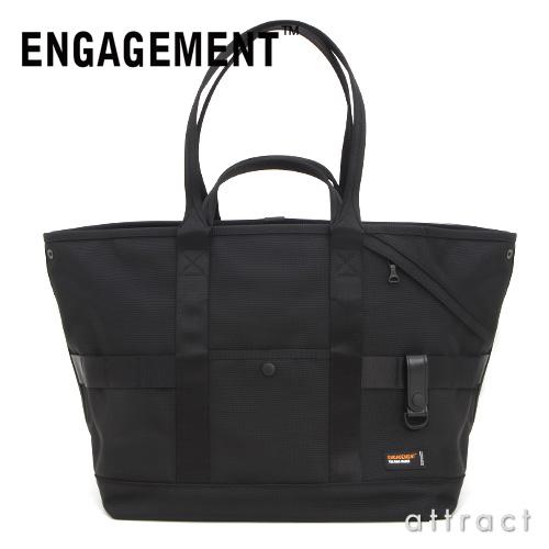 약속 ENGAGEMENT 엔게이지드・나일론 Engaged Nylon Tote Bag 대용량 토트 백 출장&여행 PC대응 칼라:2색EGTT-003 내구성 경량 발수 지수 제트셋타