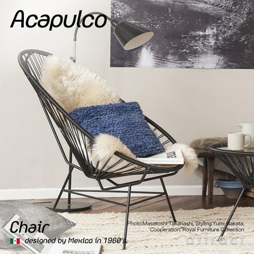 アカプルコ チェア Acapulco チェア Chair アウトドア ガーデンチェア 屋内&屋外兼用 カラー:全5色 メキシコ製 PVCコード 椅子 イス チェア 屋外 リゾート ハンドメイド ラウンジ モダン インテリア 【smtb-KD】