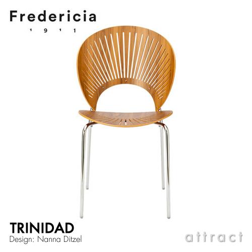 トリニダード チェア Trinidad Chair フレデリシア Fredericia スタッキング 3398 ウォルナット ラッカー デザイン:ナナ・ディッツェル 椅子 北欧 家具 デンマーク ダイニング 【smtb-KD】