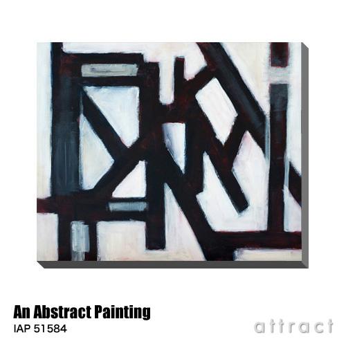 アートパネル Art Panel An Abstract Painting W600×H500mm IAP 51584 Clivewa アートポスター キャンバス MDF インテリア 壁掛け アクリル 油絵具 壁面 デザイン リビング 抽象画 フレーム 【smtb-KD】