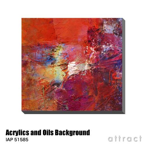 アートパネル Art Panel Acrylics and Oils Background W600×H576mm IAP 51585 Clivewa アートポスター キャンバス MDF インテリア 壁掛け アクリル 油絵具 壁面 デザイン リビング 抽象画 フレーム 【smtb-KD】