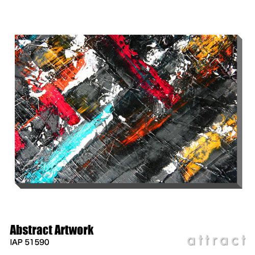 アートパネル Art Panel Abstract Artwork W800×H530mm IAP 51590 Dr.G アートポスター キャンバス MDF インテリア 壁掛け アクリル 油絵具 壁面 デザイン リビング 抽象画 フレーム 【smtb-KD】