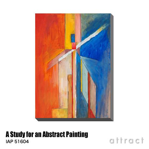 アートパネル Art Panel A Study for an Abstract Painting W530×H800mm IAP 51604 Clivewa アートポスター キャンバス MDF インテリア 壁掛け アクリル 油絵具 壁面 デザイン リビング 抽象画 フレーム 【smtb-KD】