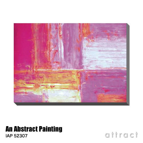アートパネル Art Panel Abstract Art Painting W800×H560mm IAP 52307 アートポスター キャンバス MDF インテリア 壁掛け アクリル 油絵具 壁面 デザイン リビング 抽象画 フレーム 【smtb-KD】