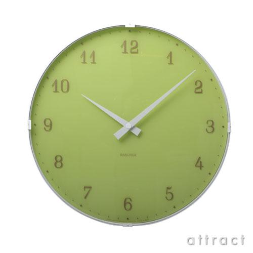 レムノス Lemnos タカタ Ambient アンビエント PC10-11 グリーン 壁掛け時計 掛時計 時計 ウォールクロック インテリア デザイン 雑貨