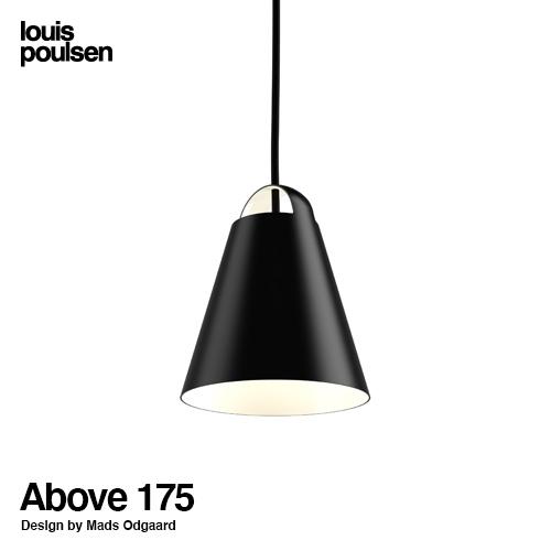 ルイスポールセン Louis Poulsen アバーヴ Above Φ175 ペンダントライト カラー:ブラック、ホワイト LED デザイン:マッス・オドゴー アルミ塗装 デザイナーズ照明 デンマーク 北欧 【smtb-KD】