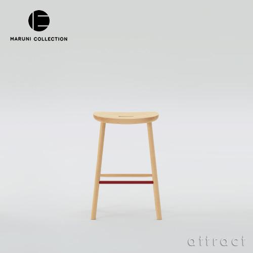 マルニ木工 maruni マルニコレクション MARUNI COLLECTION O2 スツール T&O サイズ:Mid 4本脚 椅子 メープル スチールカラー:3色 デザイナー:ジャスパー・モリソン 【smtb-KD】