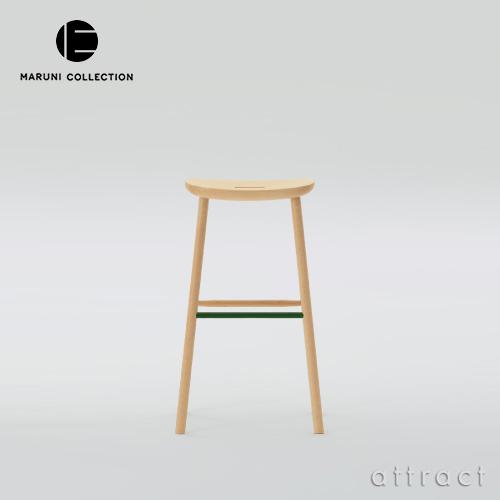 マルニ木工 maruni マルニコレクション MARUNI COLLECTION T&O O3 スツール サイズ:High 4本脚 椅子 メープル スチールカラー:3色 デザイナー:ジャスパー・モリソン 【smtb-KD】