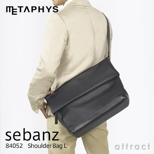 メタフィス METAPHYS sebanz セバンズ 84052 Shoulder Bag L ショルダーバッグ L・口折れタイプ カラー:全7色 Lサイズ 鞄 カバン ヌメ革 牛革 ビジネス カジュアル ギフト 【smtb-KD】