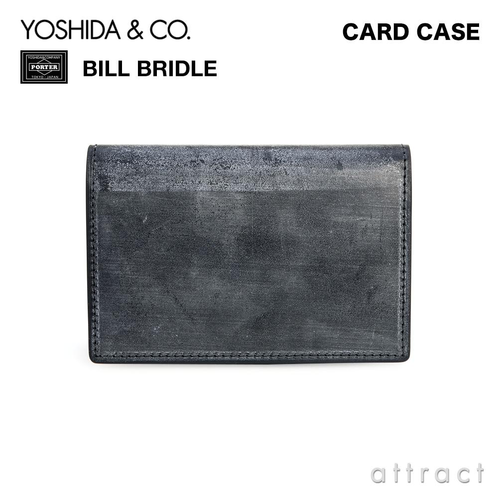 吉田カバン YOSHIDA & Co. ポーター PORTER ビルブライドル BILL BRIDLE カードケース 名刺入れ ブライドルレザー 英国 カラー:2色 185-02261 【smtb-KD】