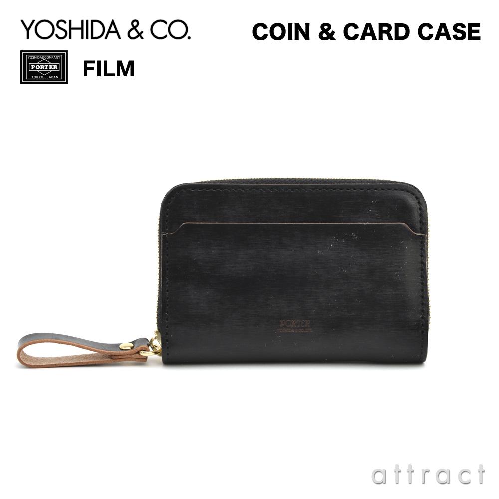 吉田カバン YOSHIDA & Co. ポーター PORTER FILM フィルム COIN & CARD CASE コイン カードケース ビジネス メンズ 男性 カラー:ブラック 187-01353  【smtb-KD】