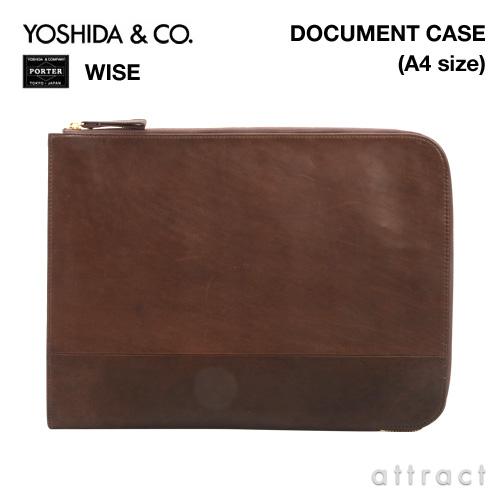 吉田カバン YOSHIDA & Co. ポーター PORTER WISE ワイズ・341-01323 DOCUMENTドキュメントケース A4サイズ  【smtb-KD】