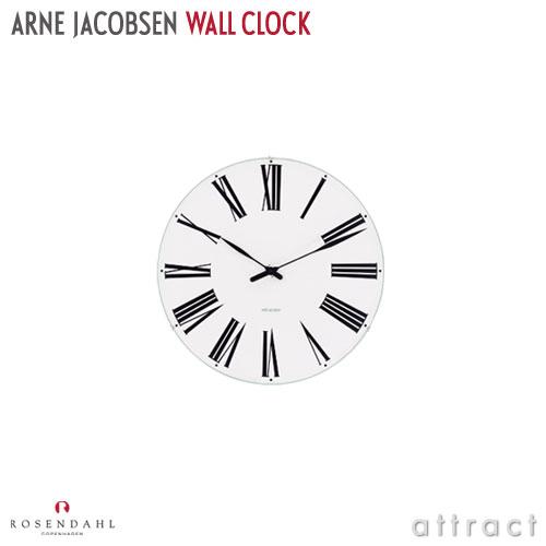 アルネ ヤコブセン Arne Jacobsen ローゼンダール ROSENDAHL ウォールクロック Wall Clock ローマン Roman Φ160mm 掛時計 日本製クォーツ 北欧 デンマーク 【smtb-KD】