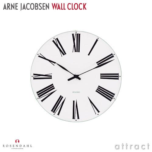 アルネ ヤコブセン Arne Jacobsen ローゼンダール ROSENDAHL ウォールクロック Wall Clock ローマン Roman Φ480mm 掛時計 日本製クォーツ 北欧 デンマーク 【smtb-KD】