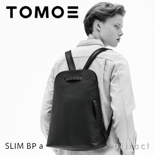 【正規取扱店】 TOMOE トモエ SLIM BP スリム BP バックパック リュック iPad Pro サイズ対応 ブラック ソフトスムースレザー 牛革 日本 トライオン カジュアル ビジネス 出張 【smtb-KD】