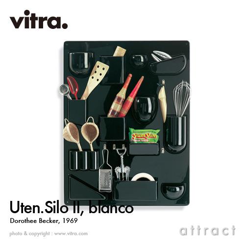 ヴィトラ Vitra ウーテン シロ 2 Uten. Silo II デザイン:Dorothee Becker ドロシー・ベッカー カラー:ブラック ABSプラスチック 小物入れ 壁面収納 ストレージ 壁掛け 収納 工具 家具 【smtb-KD】
