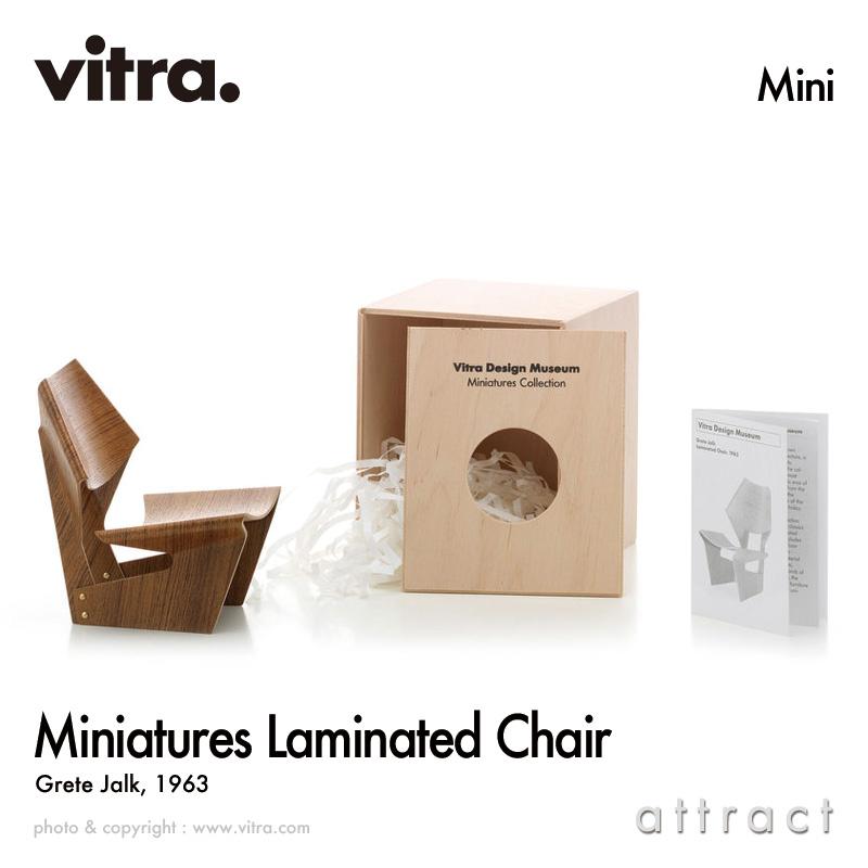 ヴィトラ Vitra ミニチュア コレクション Miniatures Collection ラミネーテッド チェア Laminated Chair デザイン:Grete Jalk グレーテ・ヤルク コレクター 名作 椅子 チェア デザイナー 【smtb-KD】【smtb-KD】