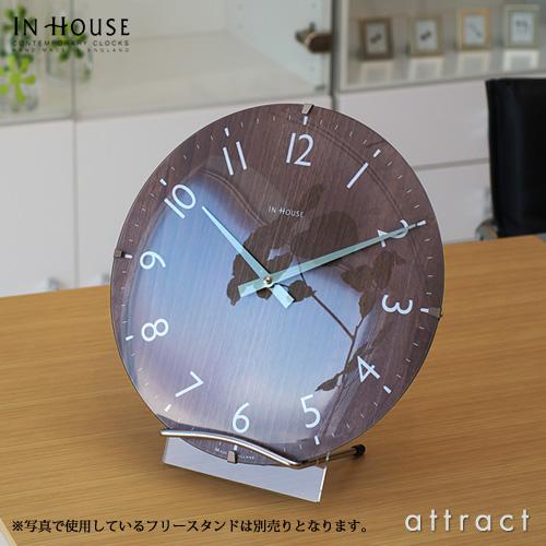 インハウス IN HOUSE Dome Clock ドームクロック サイズ:M Φ29cm NW31 ウォールクロック 壁掛け時計 カラー:全3色 ブリティッシュデザイン 英国 新築祝 結婚祝 ギフト 【HLS_DU】【smtb-KD】