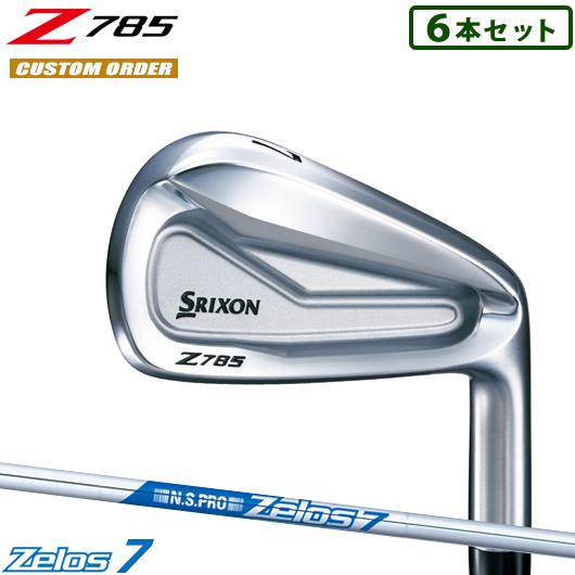 スリクソン Z785 アイアン6本セット(#5-#,PW)N.S.PRO Zelos7 シャフト装着仕様#カスタムオーダー#特注#DUNLOP/SRIXON/18Z/右打用/Z785IRON#NSプロゼロス7