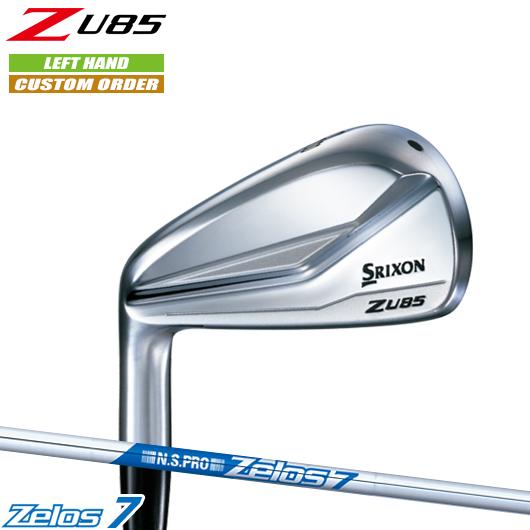 左用 スリクソン Z U85 ユーティリティN.S.PRO Zelos7 シャフト装着仕様#カスタムオーダー#特注#SRIXON/18Z/左打用(レフティ)/ZU85/アイアン型UT#NSプロゼロス7