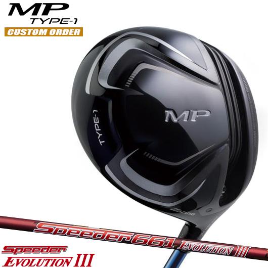 ミズノ MP MP TYPE-1 ドライバーSpeeder ミズノ EVOLUTION III シャフト装着仕様#カスタムオーダー#特注#MIZUNO/MPタイプ1 ドライバーSpeeder/435cc#フジクラスピーダーエボリューション3, アクアマーケット:505e191f --- demirayasansor.com.tr