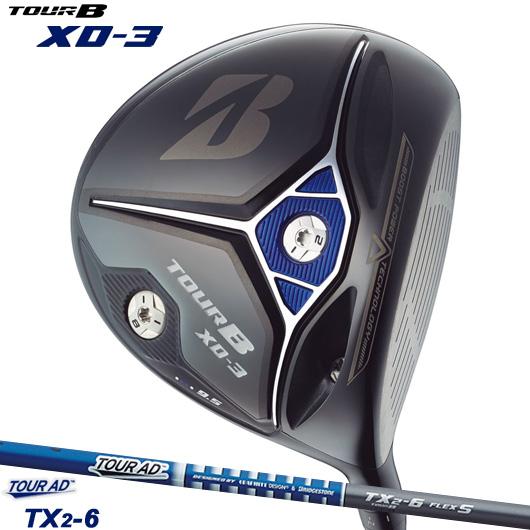 ブリヂストンゴルフ New TOUR B XD-3 ドライバーTOUR AD TX2-6 純正カーボンシャフト装着仕様#BSG/ブリジストン/ツアーB/XD3