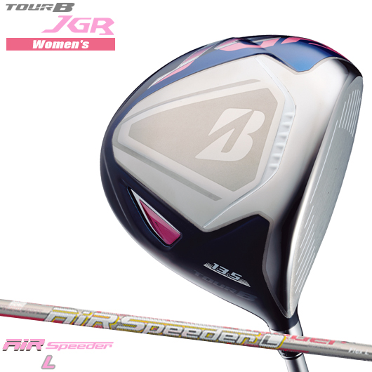 【新品】【送料無料】【日本正規品】ブリヂストンゴルフ TOUR B JGR LADY ピンク ドライバーAiR Speeder L シャフト装着仕様[BSG/レディース/女性用/ツアーB/JGR/PINK][JGR純正エアスピーダーL]