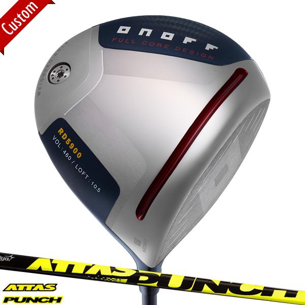 【カスタム】2020 赤オノフ RD5900 ドライバーATTAS PUNCH シャフト装着仕様#グローブライド#ONOFF#AKA#アカ#DR#アッタスパンチ#ATTAS8