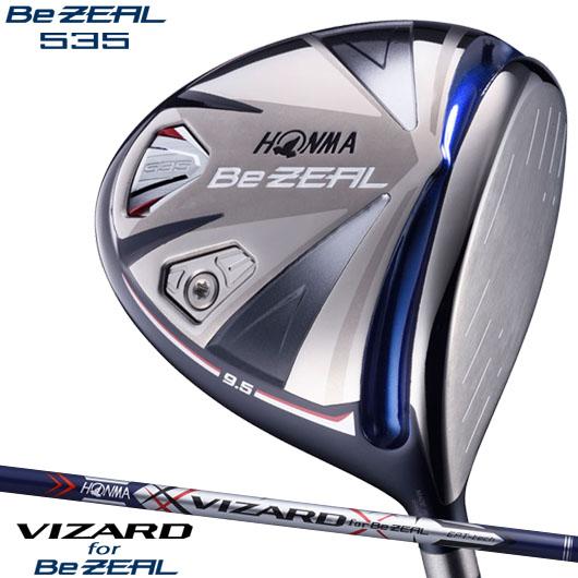 ホンマゴルフ BeZEAL 535 ドライバーVIZARD for BeZEAL カーボンシャフト装着仕様#本間/HONMA/ビジール535/ビヂール535/DR#ヴィザード/ビザード/VIZARD, ボードショップ BREAKOUT eb44f938