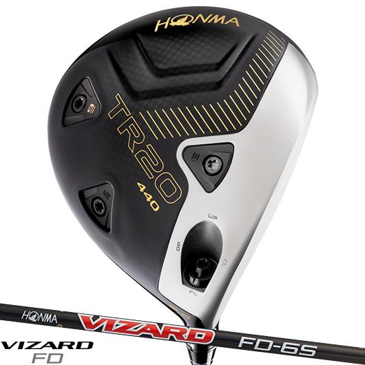 ホンマゴルフ ツアーワールド TR20 440 ドライバーVIZARD FD シャフト装着仕様 本間ゴルフ HONMA TOURWORLD 2020 DR ヴィザード ビザード お彼岸 引出物 当店では