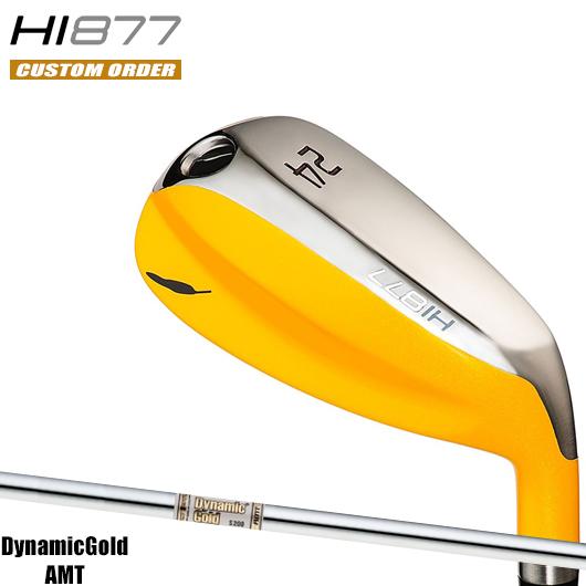 フォーティーン HI877 ユーティリティダイナミックゴールド AMT シャフト装着仕様#カスタムオーダー#特注#FOURTEEN/HI-877/バナナUT#DynamicGoldAMT