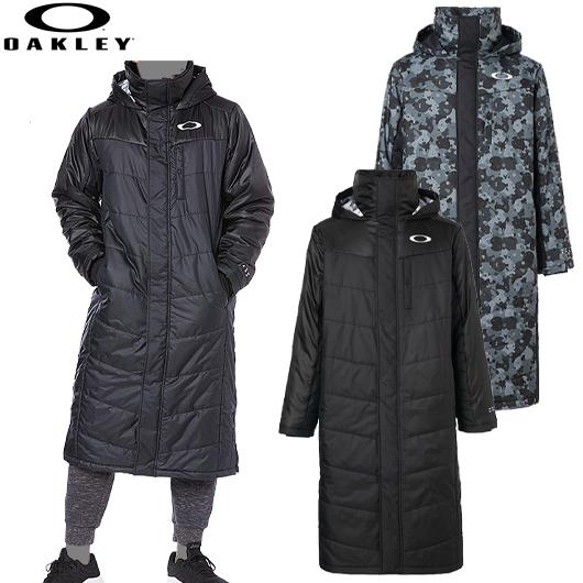 オークリー 2019 Enhance Wind Warm Long Coat 9.7 男性用ロングコート 品番:412856JP#OAKLEY#19FW#エンハンスウィンドウォームロングコート9.7
