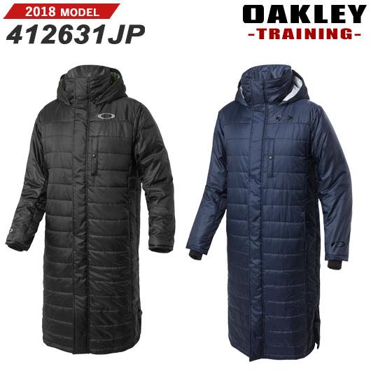 【新品】【送料無料】【アパレル】【2018秋冬】オークリー Enhance Wind Warm Long Coat 8.7 男性用ロングコート 品番:412631JP[OAKLEY/2018FW/APPAREL/ウェア]