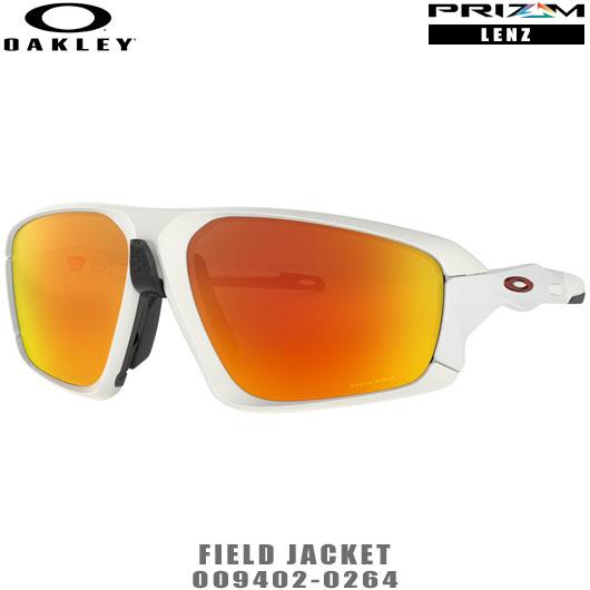 オークリー サングラス FIELD JACKET品番:OO9402-0264#OAKLEY/フィールドジャケット#PRIZM/プリズムレンズ
