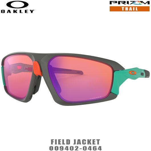 オークリー サングラス FIELD JACKET品番:OO9402-0464#OAKLEY/フィールドジャケット#PRIZM/プリズムトレイル