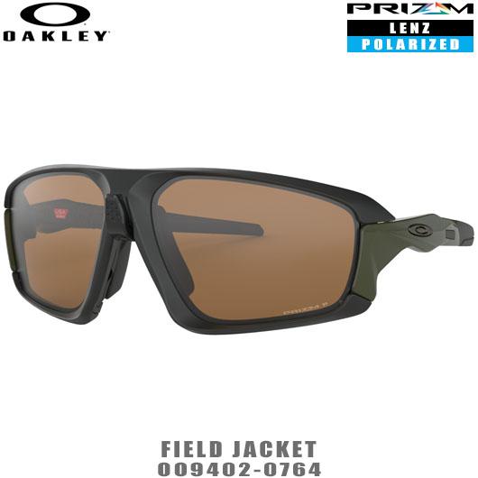 オークリー サングラス FIELD JACKET品番:OO9402-0764#OAKLEY/フィールドジャケット#PRIZM POLARIZED/プリズムポラライズド/偏光