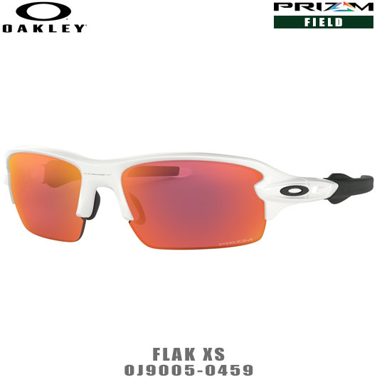 オークリー サングラス ユースフィット FLAK XS PRIZM 品番:OJ9005-0459#OAKLEY/フラックXSプリズム