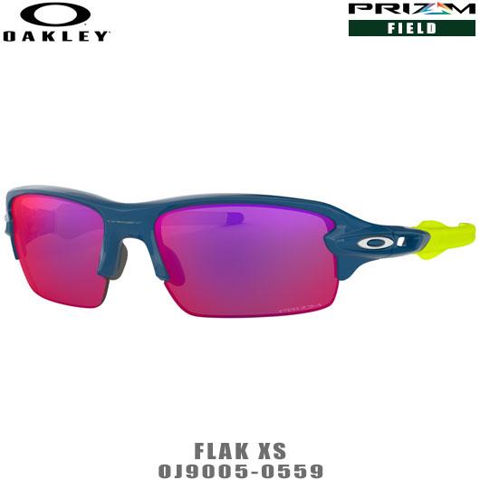 オークリー サングラス ユースフィット FLAK XS PRIZM ROAD品番:OJ9005-0559#OAKLEY/フラックXSプリズムロード