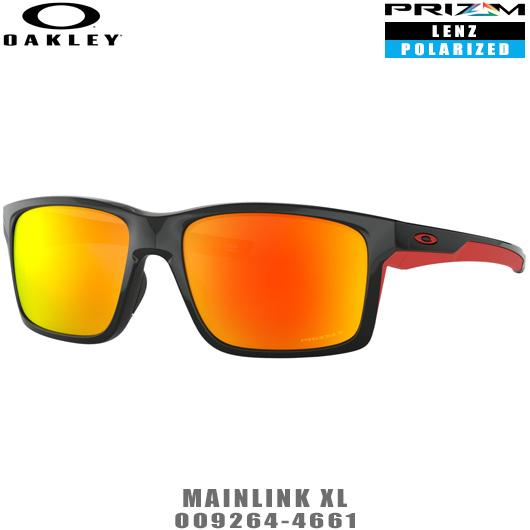 オークリー サングラス MAINLINK XL 品番:OO9264-4661 #OAKLEY/メインリンクXL#PRIZM/プリズムポラライズドレンズ#スタンダードフィット