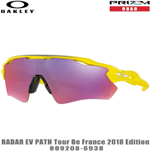 オークリー サングラスRADAR EV PATH TOUR DE FRANCE 2018 EDITION品番:OO9208-6938#OAKLEY/レーダーEVツールドフランス#プリズムロード