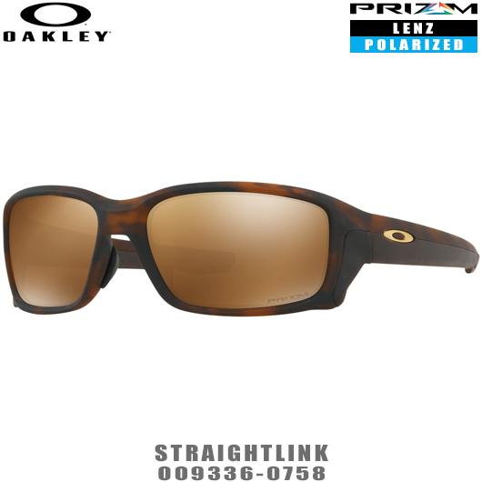 オークリー サングラス STRAIGHTLINK アジアフィット プリズムポラライズドレンズ 品番:OO9336-0758#OAKLEY/ストレートリンク/0093360758