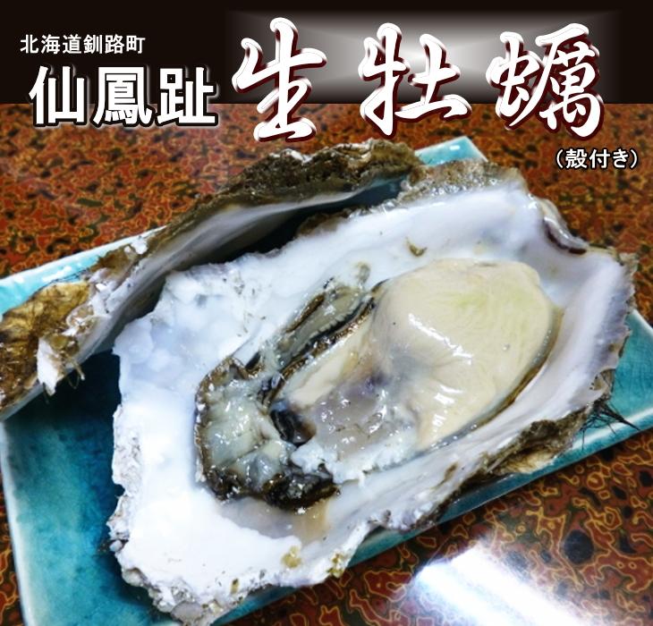レア3年物/20個/北海道・活牡蠣(カキ)(殻付き 生食)牡蠣・厚岸西岸 仙鳳趾/牡蠣230グラム~260グラム前後 殿牡蠣