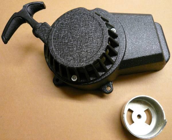 銀行振込カード決済で送料無料 新型ポケバイ用 改良リコイルスターター H067B