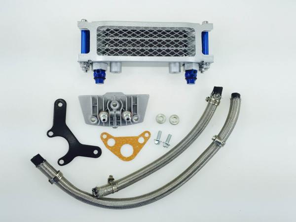 オイルクーラー3段コアプロテクター付汎用品ZHOC901-3
