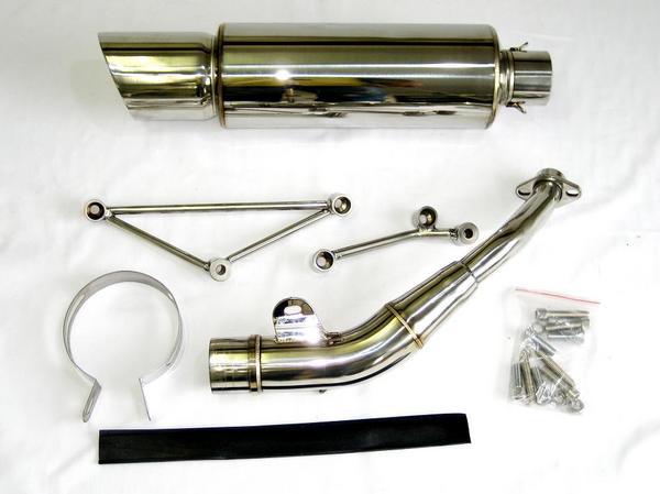 フォルツァ MF08 用 ステンレス製 ハイバーマフラー