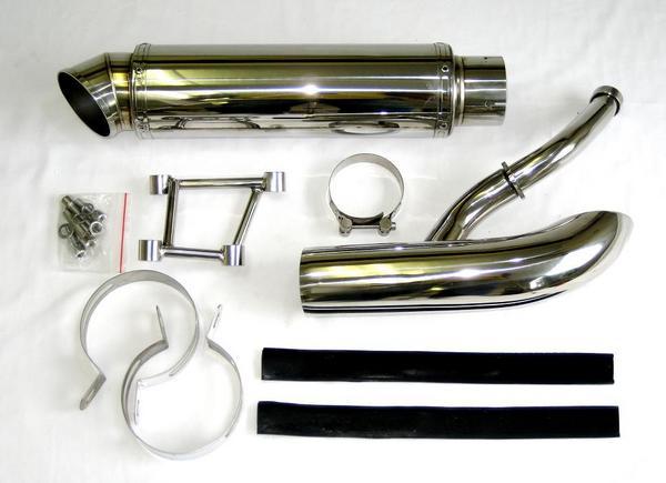 フォルツァ MF08用ステンレス製ハイグレードマフラー